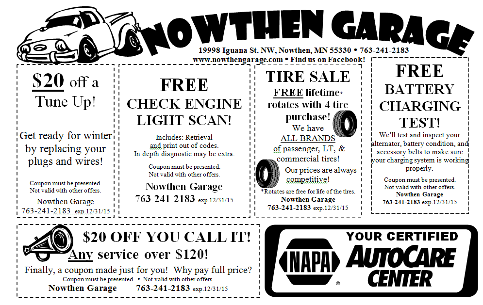 Nowthen Garage
